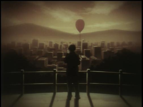 Boogiepop Phantom Red Balloon Evening Dusk Sunset