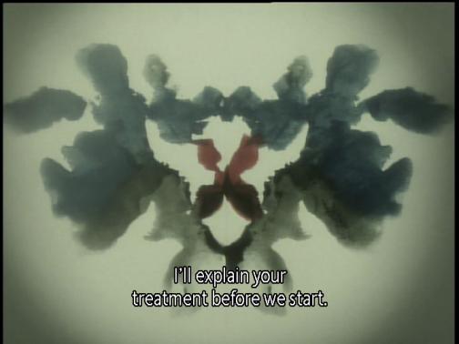 Boogiepop Phantom Rorschach Inkblot Test Treatment