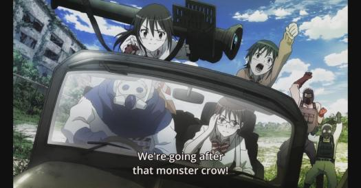 Coppelion Monster Crow Rocket Launcher Cast