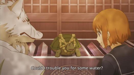 Gingitsune Turtle Herald Water