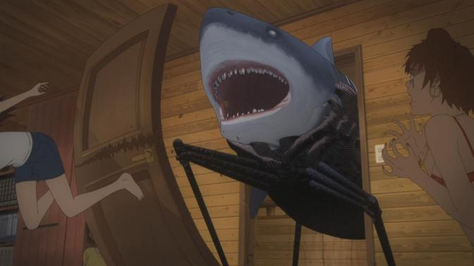 Gyo Tokyo Fish Attack Shark Cabin