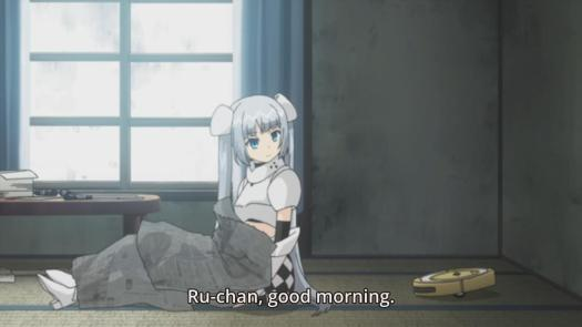 Miss Monochrome episode 2 Ru-chan