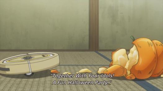 Miss Monochrome Ru-chan Roomba Pumpkin Mess