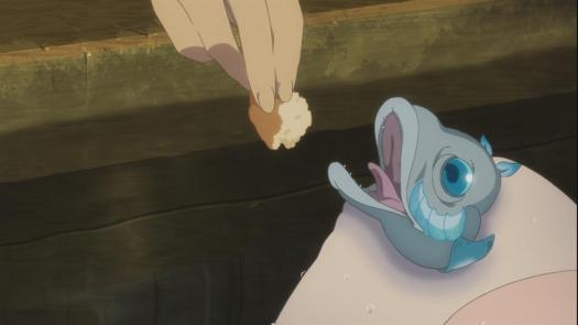 Nagi no Asukara episode 1 Fish Knee