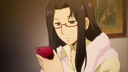 Gingitsune Hiwako Funabashi Cell Phone Bath Robe