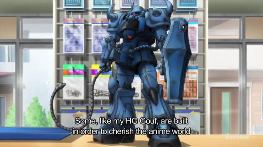Gundam Build Fighters HG Gouf Anime World Mr. Ral