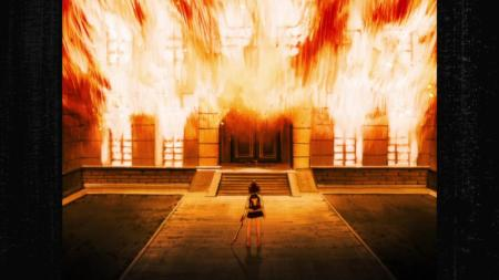 Kill la Kill Ryuuko Matoi Mansion Fire Flashback