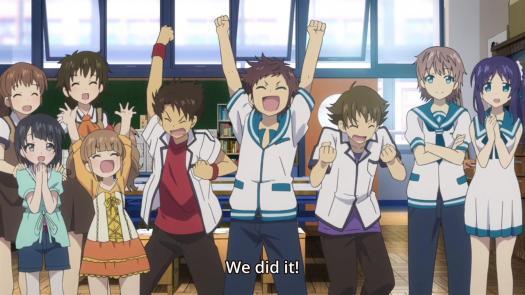 Nagi no Asukara School Class Cast