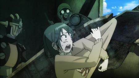 Coppelion Aoi Fukasaku No Sense 1st Division Iron Spider Sweater Shock