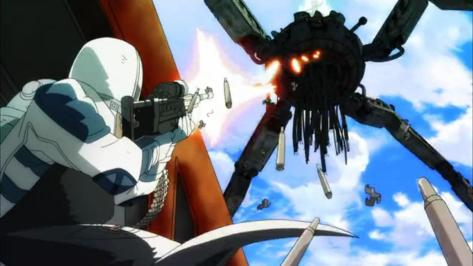 Coppelion Iron Spider Train Attack Kurobee Assault Rifle Gun Shooting