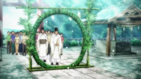 Gingitsune June Cleansing Ceremony Wreath Walk Shrine Priest