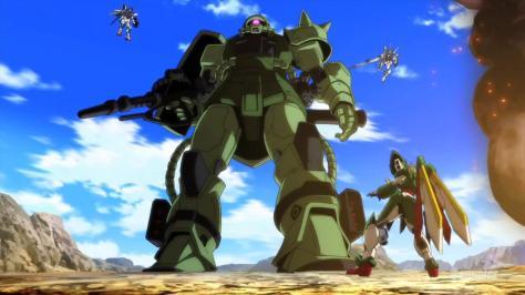 Gundam Build Fighters Mega Size Model Zaku Large Scale PPSE Battle Royale