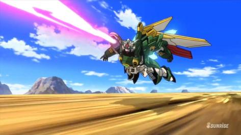 Gundam Build Fighters XXXG-01Wf Wing Gundam Fenice Ricardo Fellini