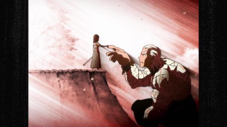 Kill la Kill Satsuki Kiryuuin Ira Gamagoori Giant Finger Handshake Flashback