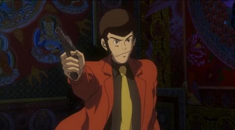 Lupin III Green Vs Red Arsene Lupin III Red Jacket Gun Smirk