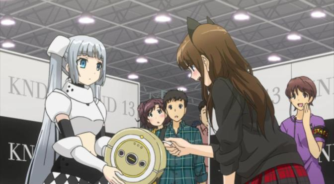 Miss Monochrome KND 13 Idol Ru-Chan Roomba Handshake Music Event