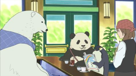 Polar Bear's Cafe Shirokuma Cafe Panda Penguin Miss Sasako