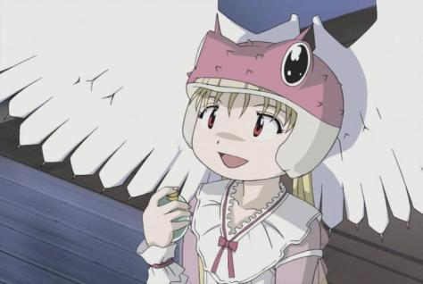 Alien Nine Kasumi Tomine Borg Perfume Wings