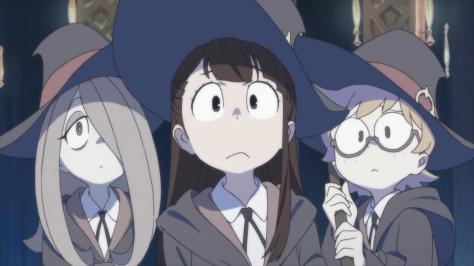 Anime Mirai 2013 Little Witch Academia Akko Kagari Sucy Manbavaran Lotte Yansson