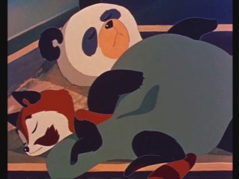 Hakujaden The Tale Of The White Serpent Panda Mimi Red Panda Sleeping Blanket