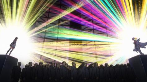 Kill la Kill Satsuki Kiryuuin CEO Ragyou Kiryuuin REVOCS Meeting Rainbow Light