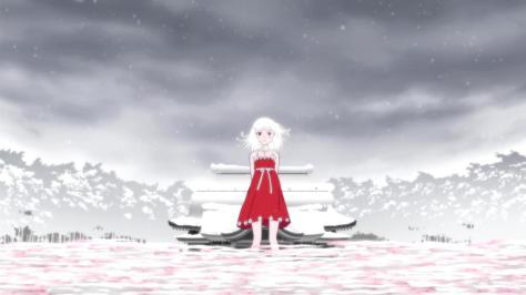 Monogatari Series - Second Season Nadeko Sengoku Snake God Red Dress