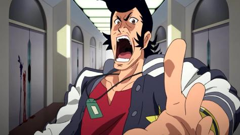 Space Dandy Shock Horror Surprise Hospital  Blood Elevator