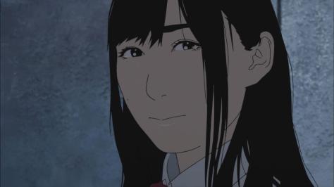 Aku no Hana The Flowers of Evil Nanako Saeki Pained Sad Lonely Lost Wall