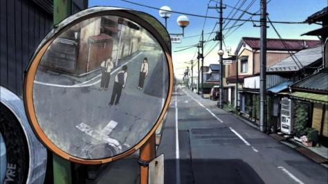 Aku no Hana The Flowers of Evil Takao Kasuga Ken Kojima Yamada Masakazu Street Mirror Road Argument