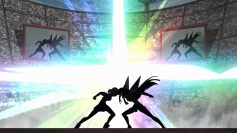 Kill la Kill Satsuki Kiryuuin Ryuuko Matoi Academy Stadium Headbutt  Mind Stitching Control