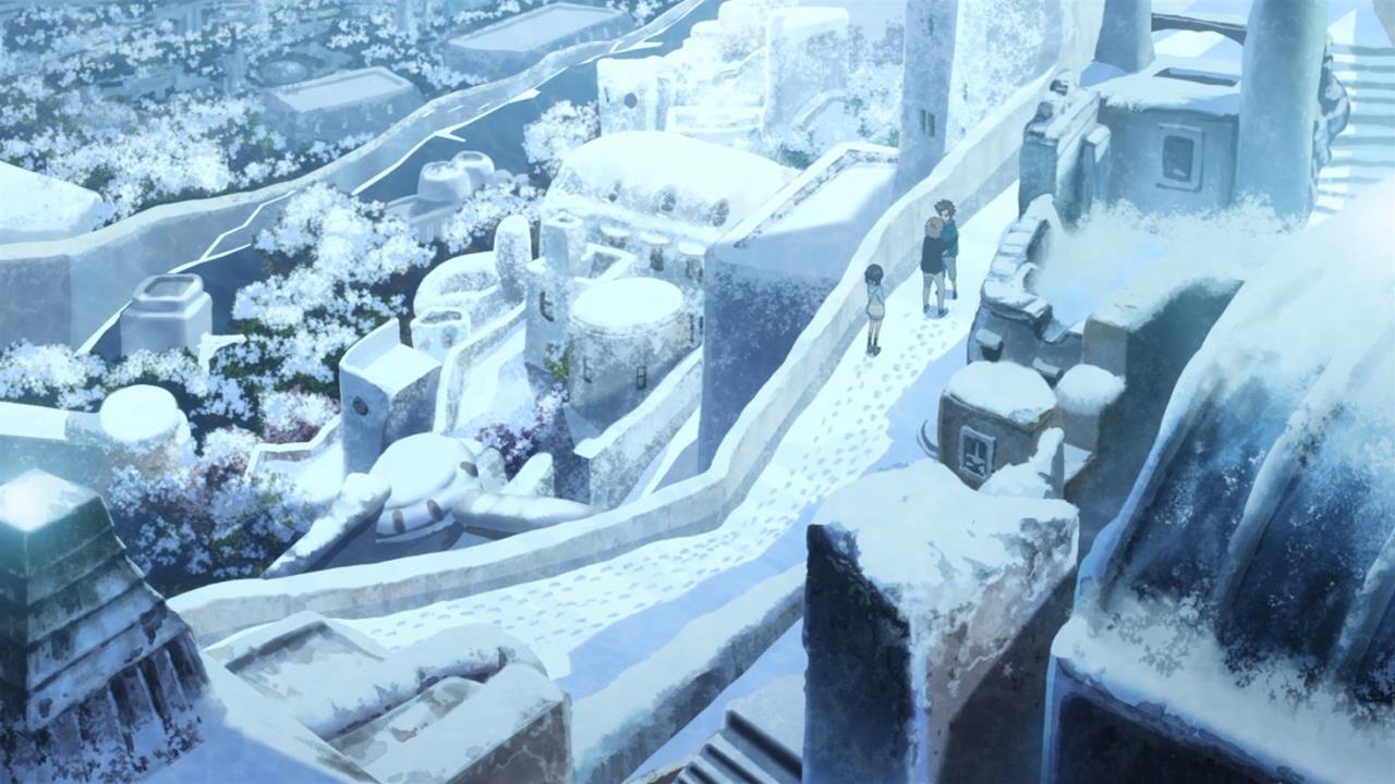 ♕ SPIRIT BRINGERS: EMPYREAN REALM. (SAGA DE DENEB) - Página 11 Nagi-no-asukara-miuna-shiodome-hikari-sakishima-kaname-isaki-shioshishio-saltflake-snow-landscape
