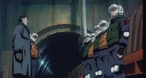 Patlabor The Movie 2 SVD2 Team Captain Kiichi Goto Tunnel Mission Briefing