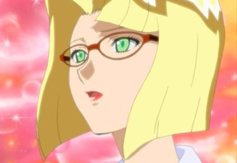 The Legend of Black Heaven Layla Reira Yuki Green Eyes Glasses Blond Stunned Amazed