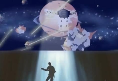 The Legend of Black Heaven Oji Gabriel Tanaka Outer Space War War Guitar Battle