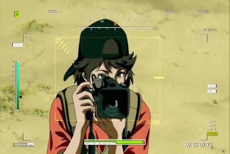 Flag Saeko Shirasu Desert Camera Hat