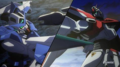 Gundam Build Fighters F91 Gundam F91 GN-001 Gundam Exia Standoff