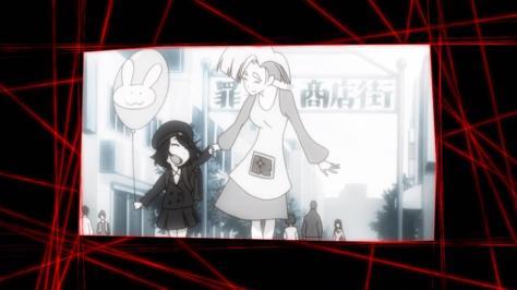Kill la Kill Ryuuko Matoi Ragyou Kiryuuin Toddler Balloon Flashback Junketsu False Memory Black And White