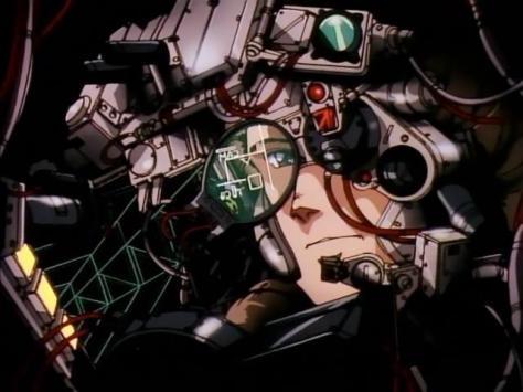 Metal Skin Panic Madox-01 Cockpit Pilot Ellie Kusumoto Screen Targeting Wires Headset