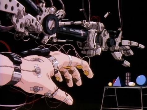 Metal Skin Panic Madox-01 Hand Wires Feedback Movement Arm Robot