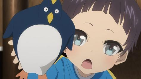 Nagi no Asukara Akira Shiodome Penguin Toy Toddler Kid