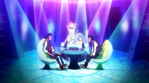 Space Dandy QT Meow Who Wants To Be A Millionaire Test Game Show Fake