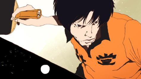 Ping Pong the Animation Kong Wenge Orange High School Uniform Tournament Qualifiers Third Round Swing