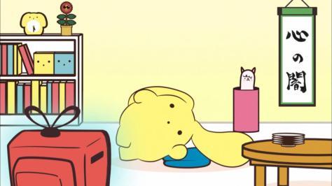 Wooser's Hand-to-Mouth Life Awakening Arc Wooser no Sono Higurashi Kakusei-hen Floor Living Room Television
