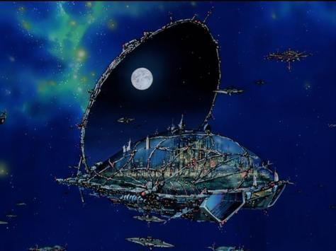 Macross 7 City 7 Space Shell Up