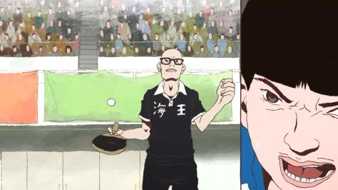 Ping Pong the Animation Manabu Sakuma Demon Ball Bounce Mocking Yutaka Hoshino Peco Tournament