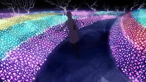 Ping Pong the Animation Yurie Christmas Lights Walk In The Park Alone