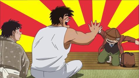 Rowdy Sumo Wrestler Matsutaro Abarenbou Rikishi!! Matsutarou Matsutarou Sakaguchi Old Man Nishio High Five Rising Sun