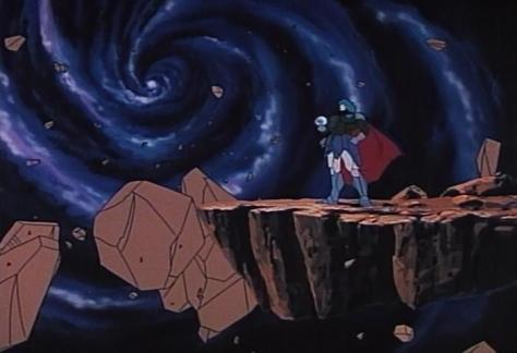 Dream Dimension Hunter Fandora Mujigen Hunter Fandora Yume Jigen Hunter Fandora Yogu Sogos Evil Floating Rocks In Space Pose DeadLander Deddlander