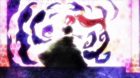 Kanojo ga Flag wo Oraretara If Her Flag Breaks Stained Glass Window Princess Nanami Knight Bladefield Arrow Shot Death