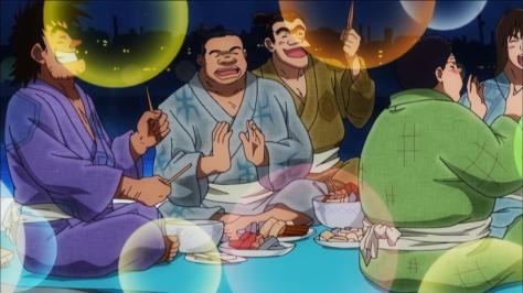 Rowdy Sumo Wrestler Matsutaro Abarenbou Rikishi!! Matsutarou Matsutarou Sakaguchi Night Party After Fishing